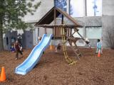 The Slide and Swings Play Area